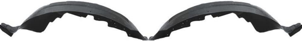 Fender Liner Set for 1998-2011 ford Ranger Front Left /& Right Side Plastic Pair