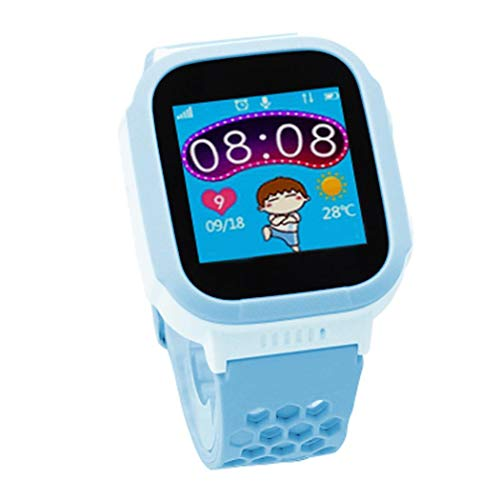 Zouvo Kids Phone Smart Watch, Touch Screen Watches GPS Tracker Watch Phone Baby Watch Bracelet with Camera Flashlight Function for Girls Boy Smart Watches