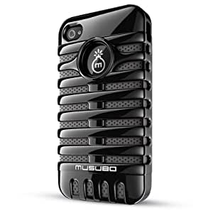 Musubo Retro  Case for iPhone 4/4S-Black
