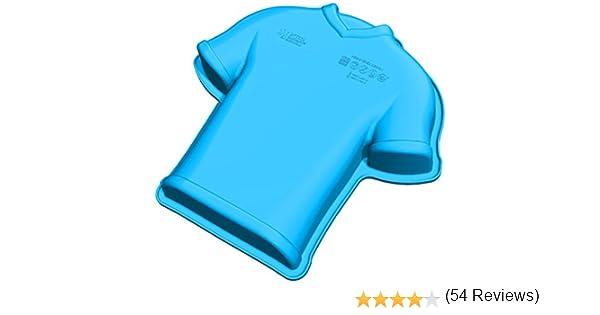 Unbekannt SFT339 Molde de Silicona con Forma de Camiseta de fútbol, Color Azul: Amazon.es: Hogar