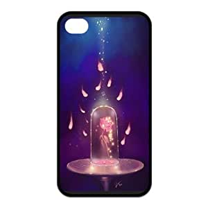 Fashion Beauty and the Beast Personalized For SamSung Note 2 Case Cover PC Silicone