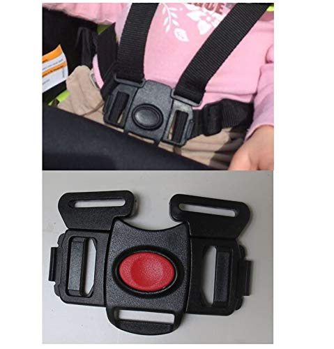 Stroller and Car Seat Replacement Parts/Accessories to fit Graco Products for Babies, Toddlers, and Children (5 Point Stroller Buckle)