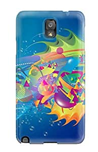 Forever Collectibles Summer High Resolution Hard Snap-on Galaxy Note 3 Case
