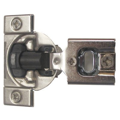 Blum Compact 38N Screw-On, 1/2'' Overlay Hinge with Soft Close