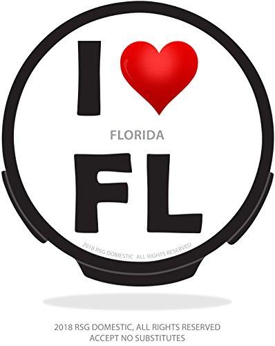 (I Love FL Backlit Sign (M), Manual ON/Off, with Light Sensor! Works with Tinted)