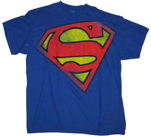 DC Comics Superman Logo Distressed Graphic T-Shirt