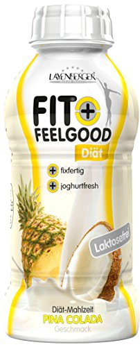 Layenberger Fit+Feelgood Diät Shake fixfertig Pina Colada, 6er Pack (6 x 312 ml)