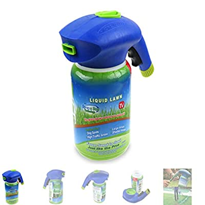 Handfly Grass Growth Garden Sprayer Bottle- Lawn Yard Seed Sprayer Hydro Mousse Sowing, The Grass Grows Where You Spray?No with Seed and Liquid