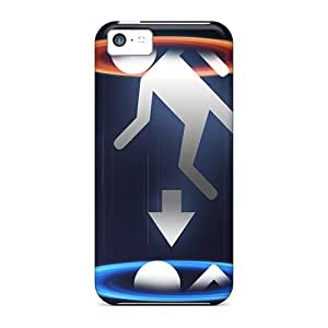 Richavans BKqjpSO8459AmJiN Case Cover Skin For Iphone 5c (portal Infinite)