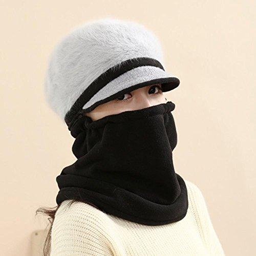 Oreille chapeau d'hiver chaude épaississement coupe-vent pour les dames , 3