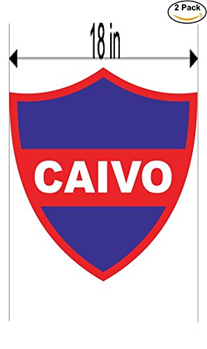 Club Atletico Independiente Villa Obrera de San Juan Argentina Soccer Football Club FC 2 Stickers Car Bumper Window Sticker Decal Huge 18 inches