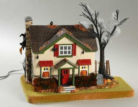 Department 56 Snow Village Halloween Hauntsburg House
