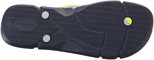 Havaianas Mens Sandal Flip Flop Navy Blue/Ice Grey mR1OlM