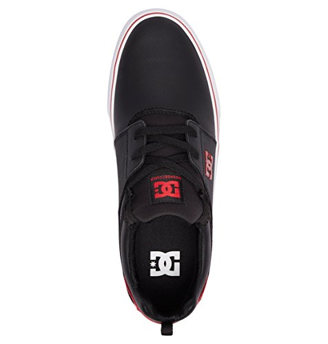 Herren Skateboardschuhe Athletic Vulc Shoes Heathrow DC Red Black White 1qz5a