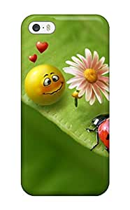 Top Quality Protection Smiley In Love Case Cover For Iphone 5/5s