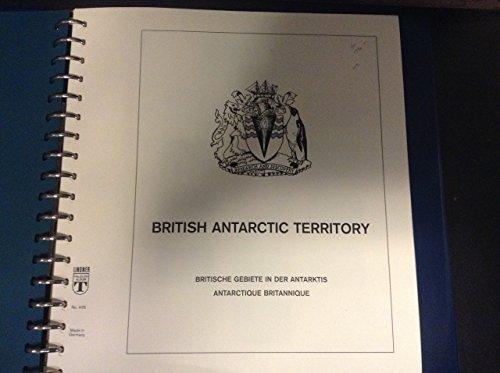 British Antarctic Territory 1963 to 2002 Linder Hingless Album, Binder, Dustcase