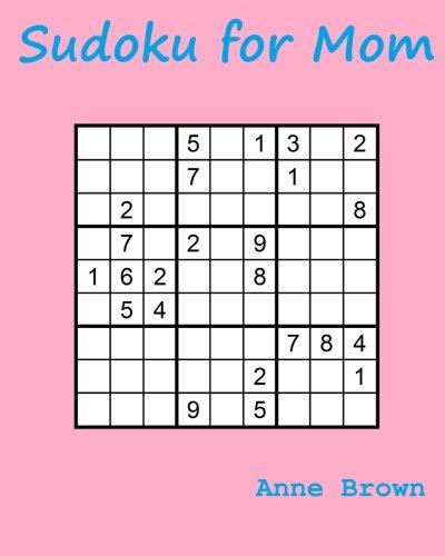 Download Sudoku for Mom: 200 Sudoku Puzzles pdf