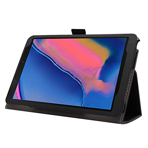Ratesell Galaxy Tab A 8 (2019) Case, Multi-Angle Stand Slim-Book PU Leather Case Cover with Stylus Slot Holder Compatible with Samsung Galaxy Tab A 8 (2019) SM-P200 ; SM-P205 Don't Touch Me