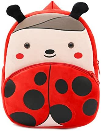 Nice Choice Cute Toddler Backpack Toddler Bag Plush Animal Cartoon Mini Travel Bag for Baby Girl Boy 1-6 Years