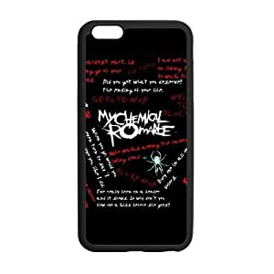 Fashion MCR My Chemical Romance Hard Snap-On Rubber Coated Cover Case for iPhone 6 Plus (5.5 inch)