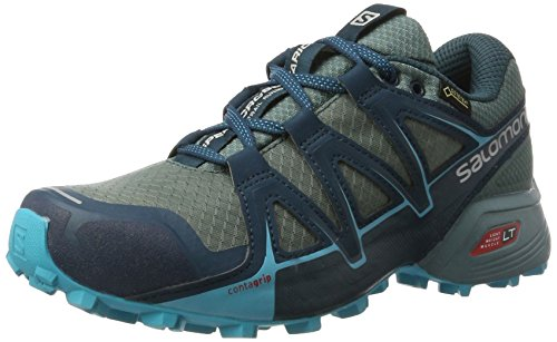 para Trail Mujer North Salomon Speedcross Vario Artic Bird Running Calzado 2 GTX Blanco Blue Atlant de fwY87wgqz