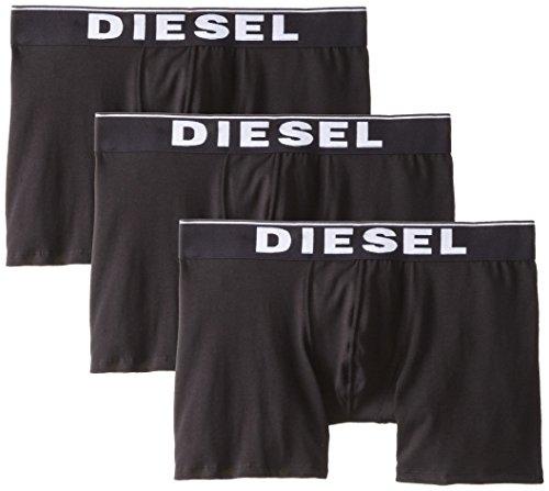 Diesel Men's Diesel Men's Sebastian 3-pack Essentials Boxer Brief Underwear, -black, M