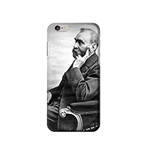 """Alfred Nobel Adjusted 4.7 inches Iphone 6 Case,fashion design image custom iPhone 6 4.7 inches case,durable iphone 6 hard 3D case cover for iphone 6 4.7"""", iPhone 6 Full Wrap Case"""