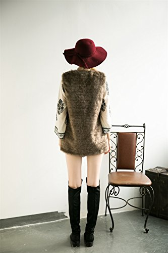 Vlunt - Chaleco - para mujer marrón