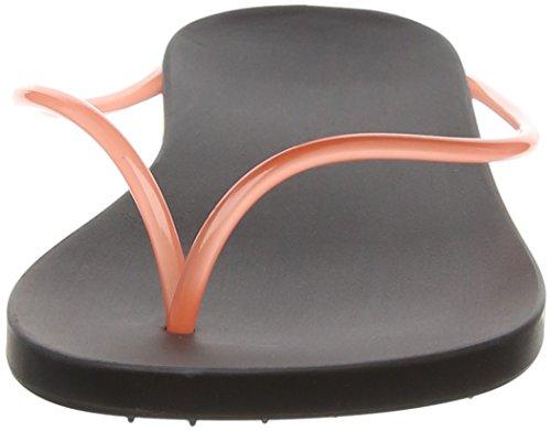Ipanema Philippe Starck Thing M Fem, Damen Zehentrenner, Schwarz (Black/Pink 8018), 39 EU