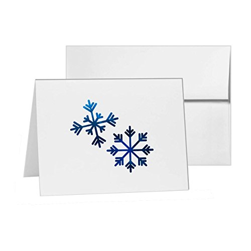- Snowflakes Finland Snowing Snowflake Scandinavia, Blank Card Invitation Pack, 15 cards at 4x6, with White Envelopes, Item 667915
