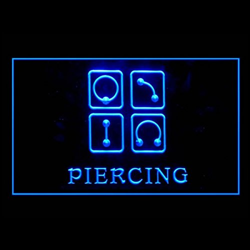 100011 Piercing Body Ear Tattoo Earing Shop Display LED Light Sign by Easesign