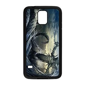 Custom Monster Design Plastic Case Protector For Samsung Galaxy S5