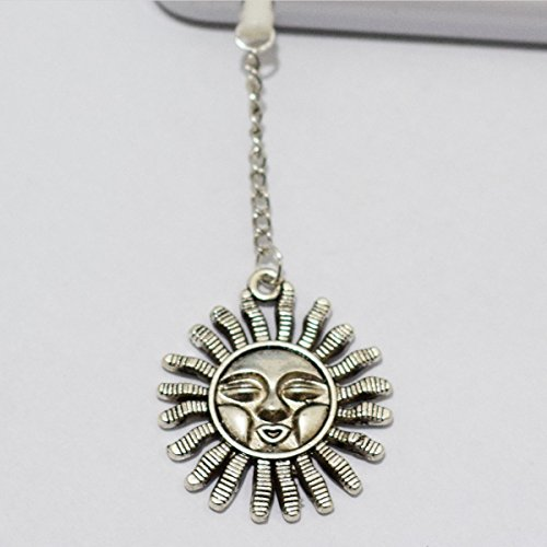 Sun Cell Phone Charm, Sun Dust Plug-3.5mm, Unique Cell Phone Charm, Headphone Jack Charm , Phone Charm Dust Plug,charm Dust Plug for Iphone 3,iphone4,iphone 4s ,Iphone 5,iphone 5s,iphone 6, Samsung S3,samsung S4, Samsung S5 ,Note 2,note 3, Ipad 2,ipad 3,ipad 4,ipad 5 Nokia,htc One M7, Ipad Mini Dust Plug (Headphone Jack Charms Iphone6 compare prices)