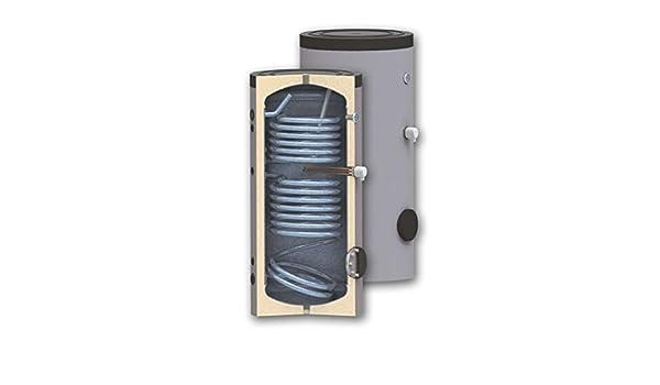 Hijo 500 litros calentador de agua solar con dos intercambiadores de calor - Bobinas y lugar para inmersión calentador eléctrico: Amazon.es: Bricolaje y ...