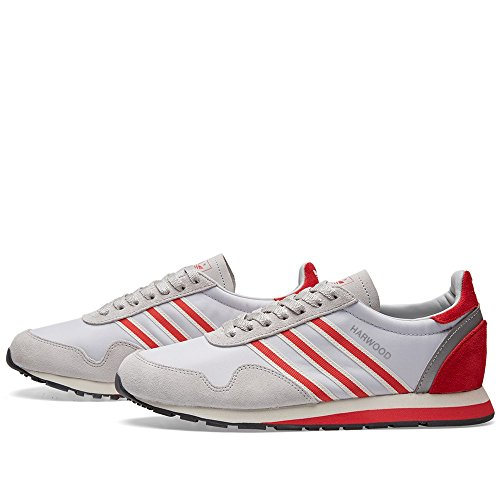 Adidas Heren Hardhout Spzl (grijs / Transparant Grijs / Rood / Grijs) Grijs