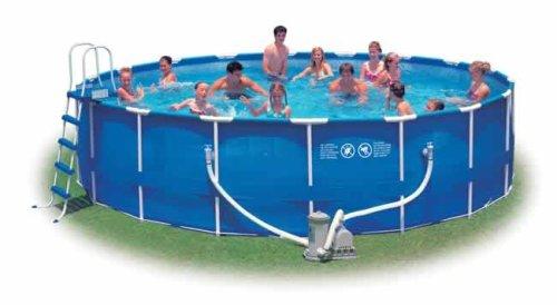 Intex 18 X 48 Metal Frame Swimming Pool Set 56951eb