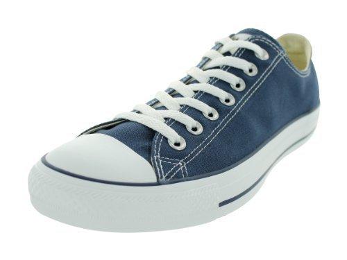 Converse Unisex Chuck Taylor All Star Core Ox Sneaker, Navy, Mens,Navy,Mens 7.5 Womens 9.5