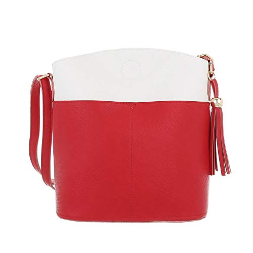 Porter L'épaule Femme À Sac Ital design Rouge Pour AwXSwUR