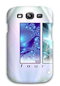 New Four Elements Tpu Case Cover, Anti-scratch Mary David Proctor Phone Case For Galaxy S3 WANGJING JINDA