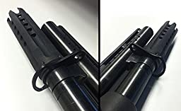 HFD2 Forward Sling Mount for Mossberg 500, Maverick 88 12/20 Ga. + Ultimate Arms Gear Silicone Cleaning Cloth