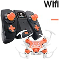 Lucoo FY-601w Drone 2.4G 4CH 6-Axis Mini RC Gyro Quadcopter With WIFI Camera FPV