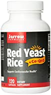 Jarrow Formulas Red Yeast Rice, Supports Cardiovascular Health, 120 Caps