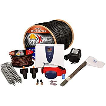 Underground Electric Dog Fence Ultimate - Extreme Pro Dog Fence System for Easy Setup and Maximum Longevity and Continued Reliable Pet Safety - 1 Dog | 500 Feet Pro Grade Dog Fence Wire