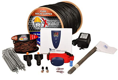 Underground Electric Dog Fence Ultimate – Extreme Pro Dog Fence System for Easy Setup and Maximum Longevity and Continued Reliable Pet Safety – 1 Dog | 1000 Feet Pro Grade Dog Fence Wire For Sale