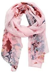 Pack of 2 AMTAL Women Large Floral Paisley Abstract Elephant Design Cashmere Feel Reversible Pashmina Shawl Scarf