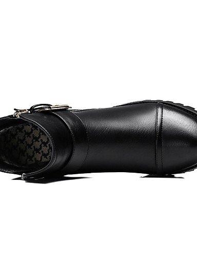 La Gris Mujer Fiesta Zapatos Eu37 Xzz Eu38 Oficina 5 Uk5 7 Gray Noche 5 De Robusto Sintético Y Black Uk4 Negro Trabajo Moda A Tacón us7 5 us6 Botas Cn37 5 Casual Cn38 5 E0qOTxqn