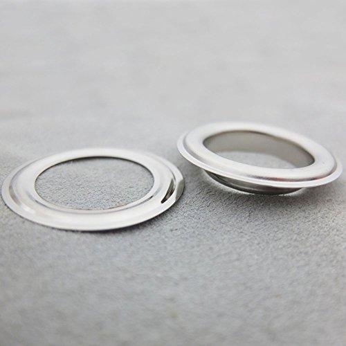 Bluemoona 50 Sets - Grommet Eyelets 1