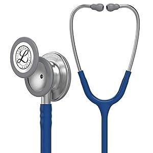 Stetoscopio per il monitoraggio 3M™ Littmann® Classic III™, tubo auricolare blu navy, 69 cm, 5622 41evfbuYBAL. SS300