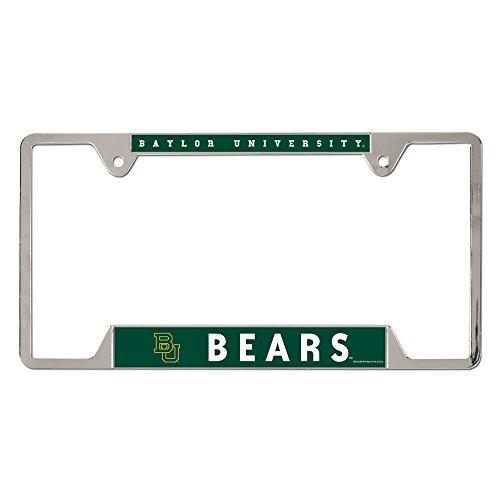 NCAA Baylor University Metal License Plate Frame
