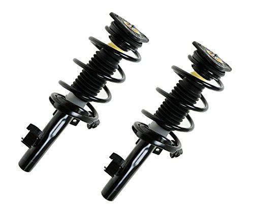 MILLION PARTS 2 Pcs Front Complete Strut Shock Absorber Assembly 172263 172264 for Mazda 2004-2013 3 2006-2010 5